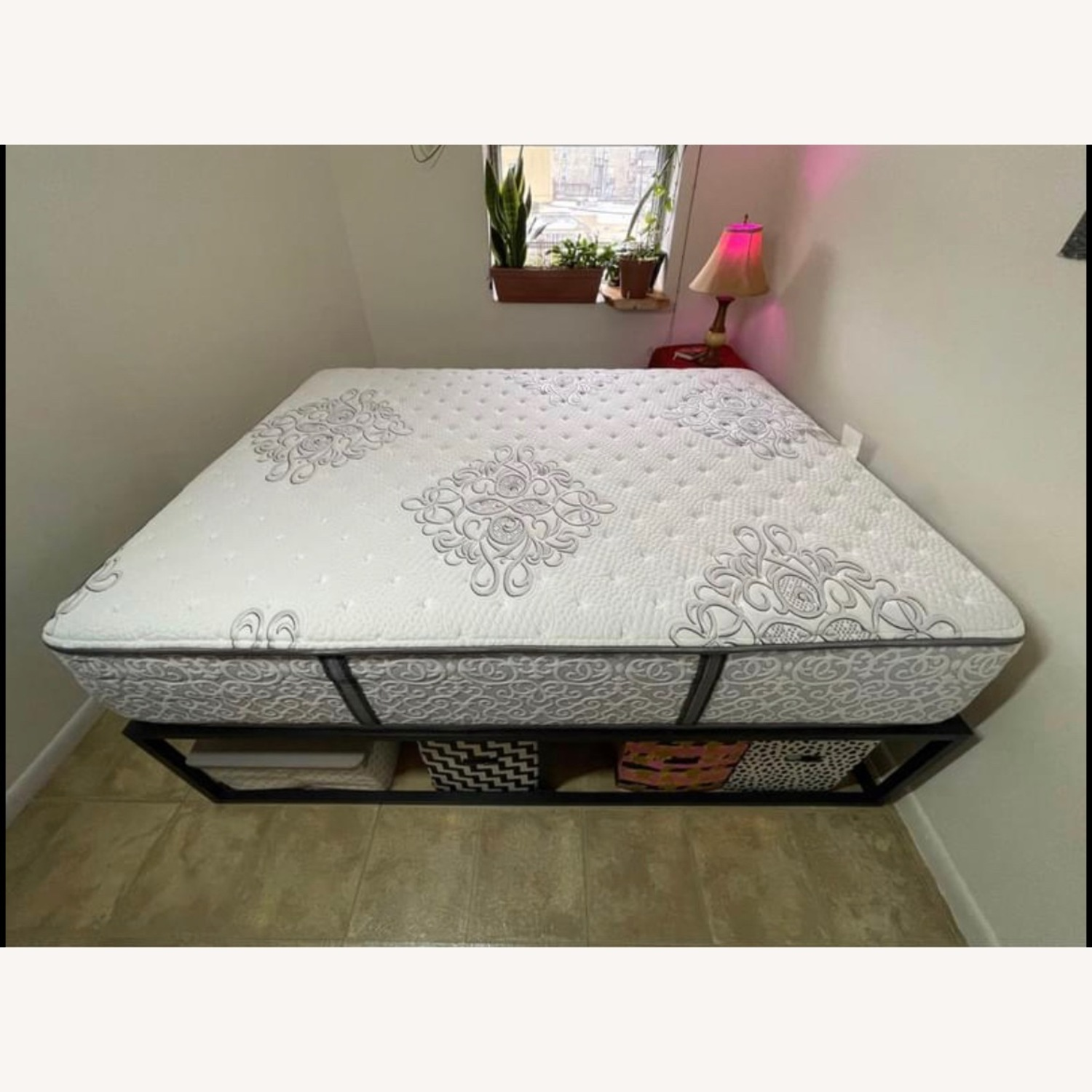 Queen Size Bed Frame - image-2