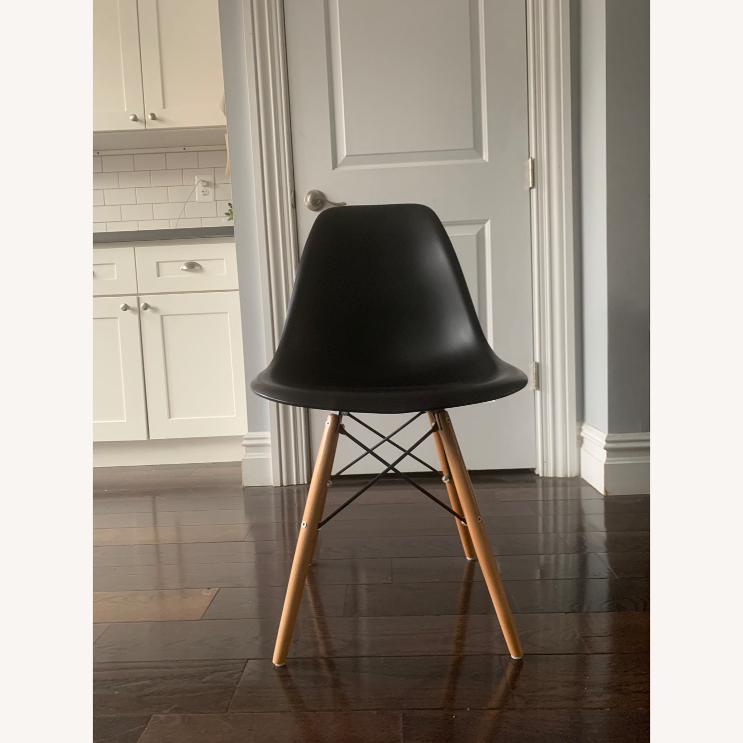 Eames DSW Molded Plastic Side Chairs - Replica x 5 - image-0