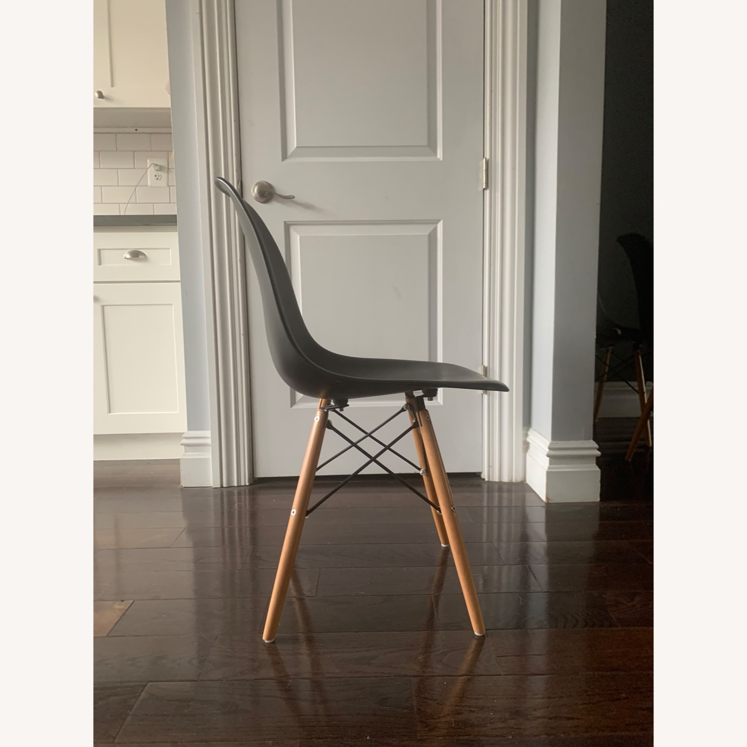 Eames DSW Molded Plastic Side Chairs - Replica x 5 - image-4