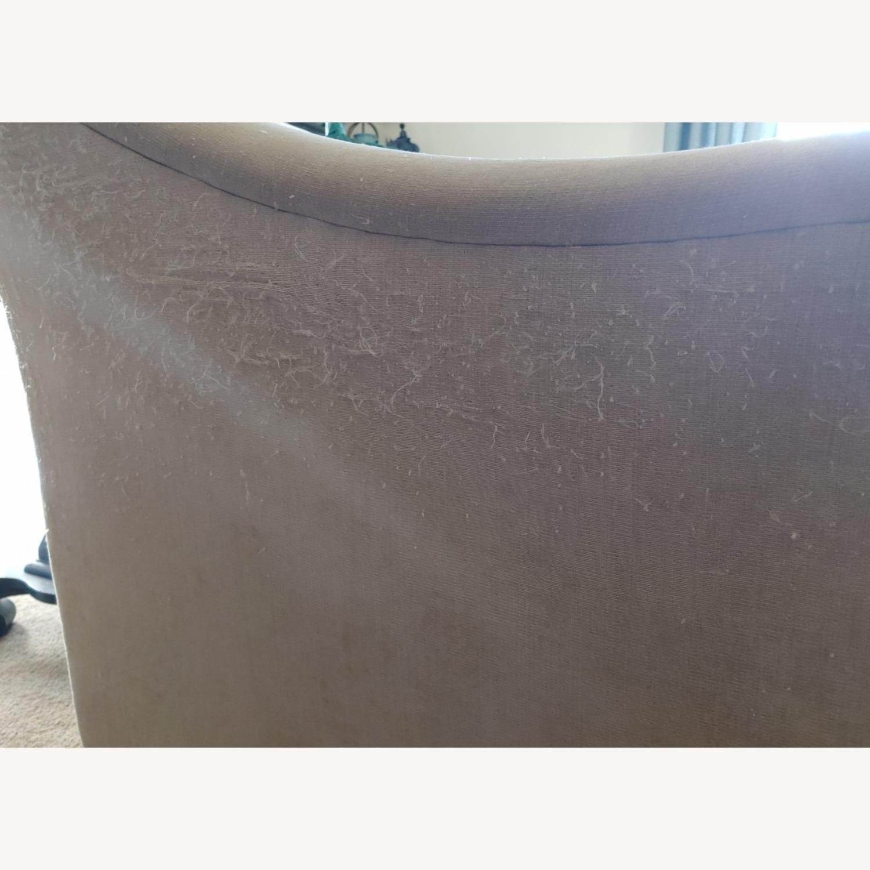 Raymour & Flanigan Cream Sofa - image-4