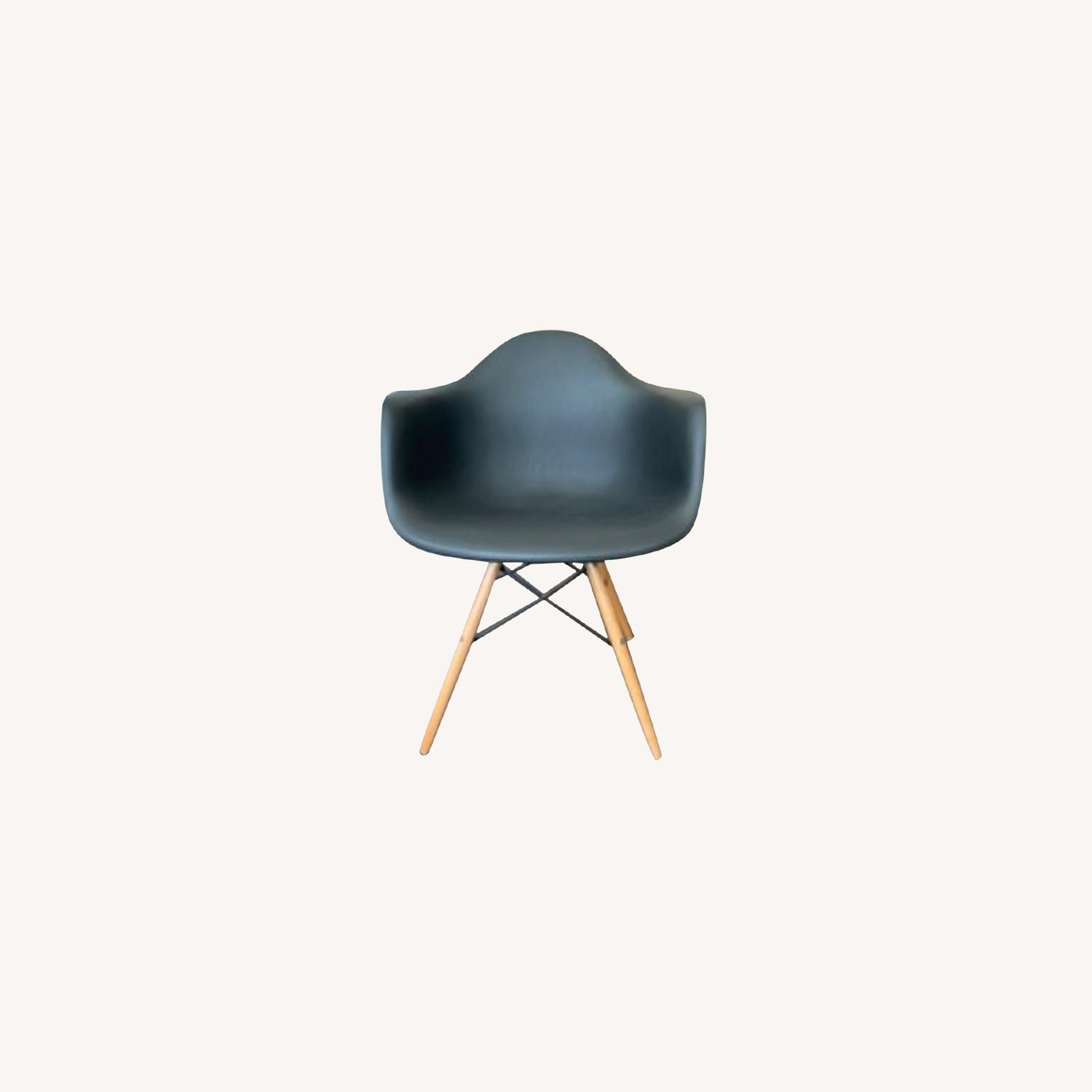 Eames DAW Molded Plastic Armchair Replica x 2 - image-0