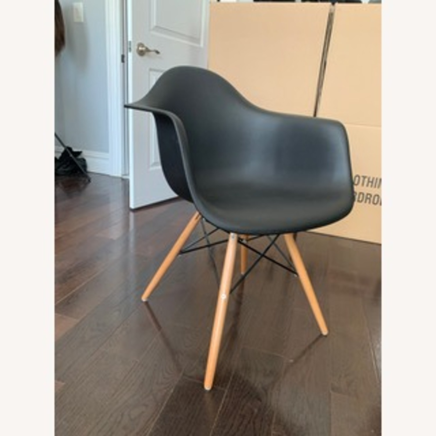 Eames DAW Molded Plastic Armchair Replica x 2 - image-3