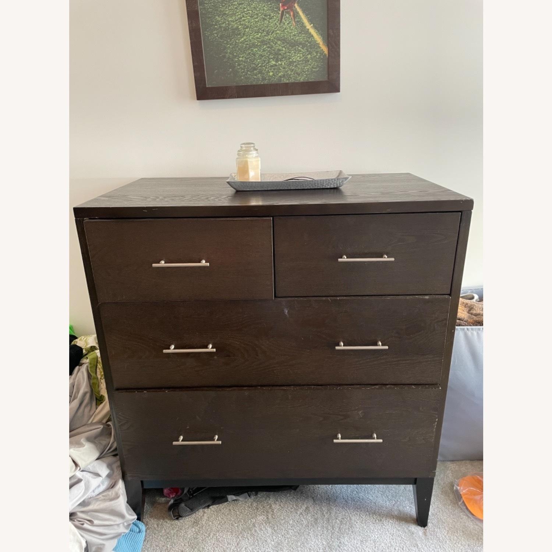 West Elm Narrow Leg 4 Drawer Dresser - image-1