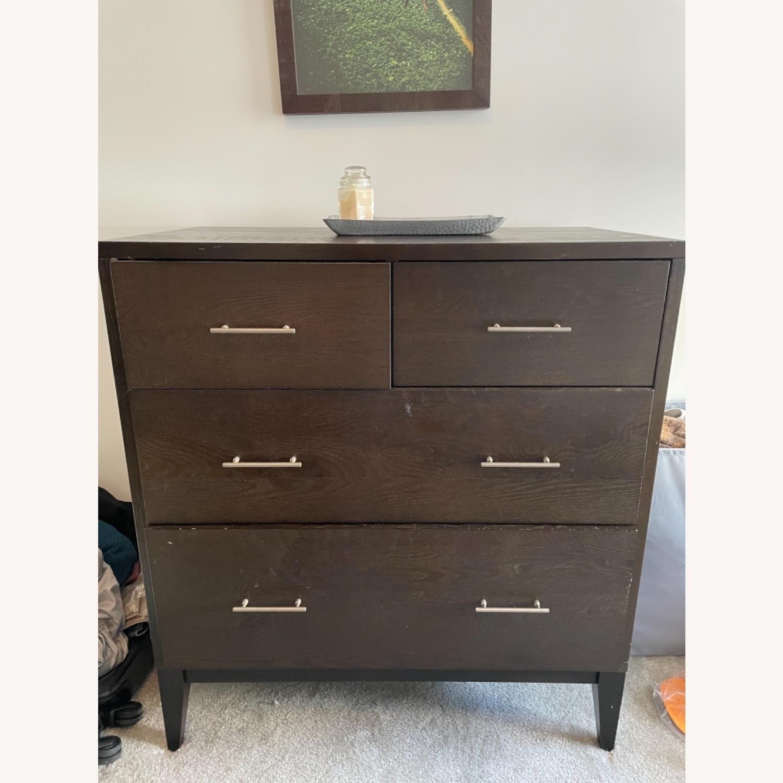 West Elm Narrow Leg 4 Drawer Dresser - image-3
