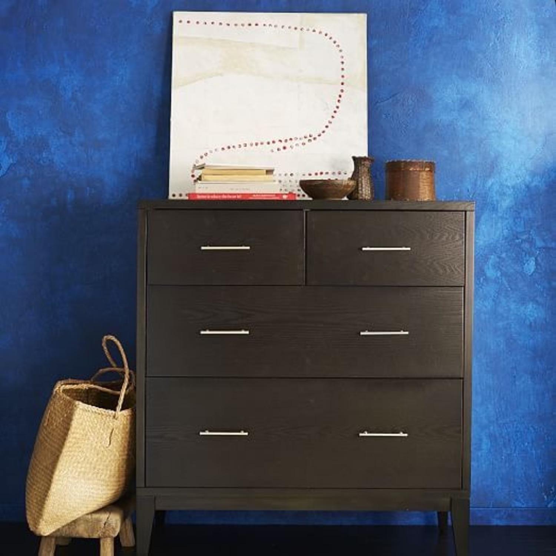 West Elm Narrow Leg 4 Drawer Dresser - image-7