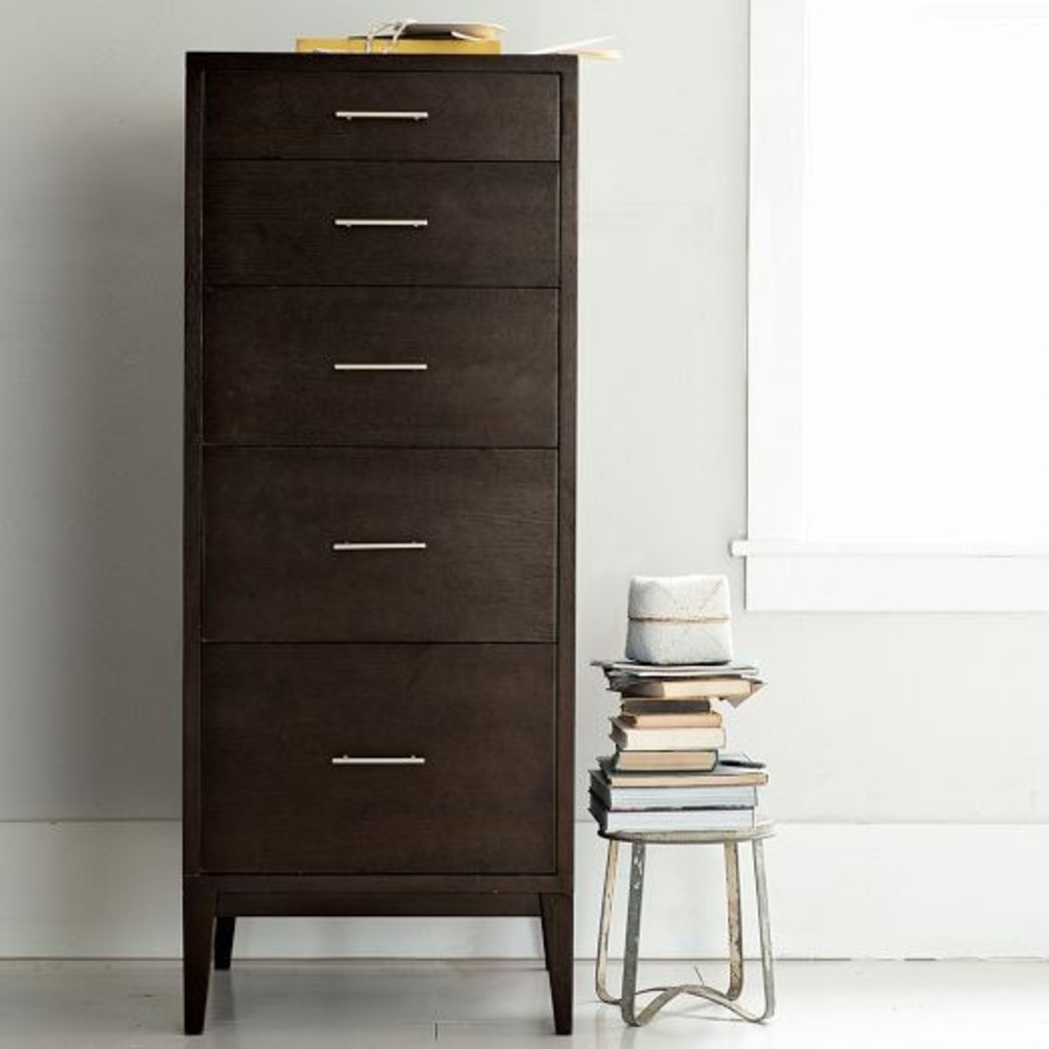 West Elm Narrow Leg Tall Dresser - image-8