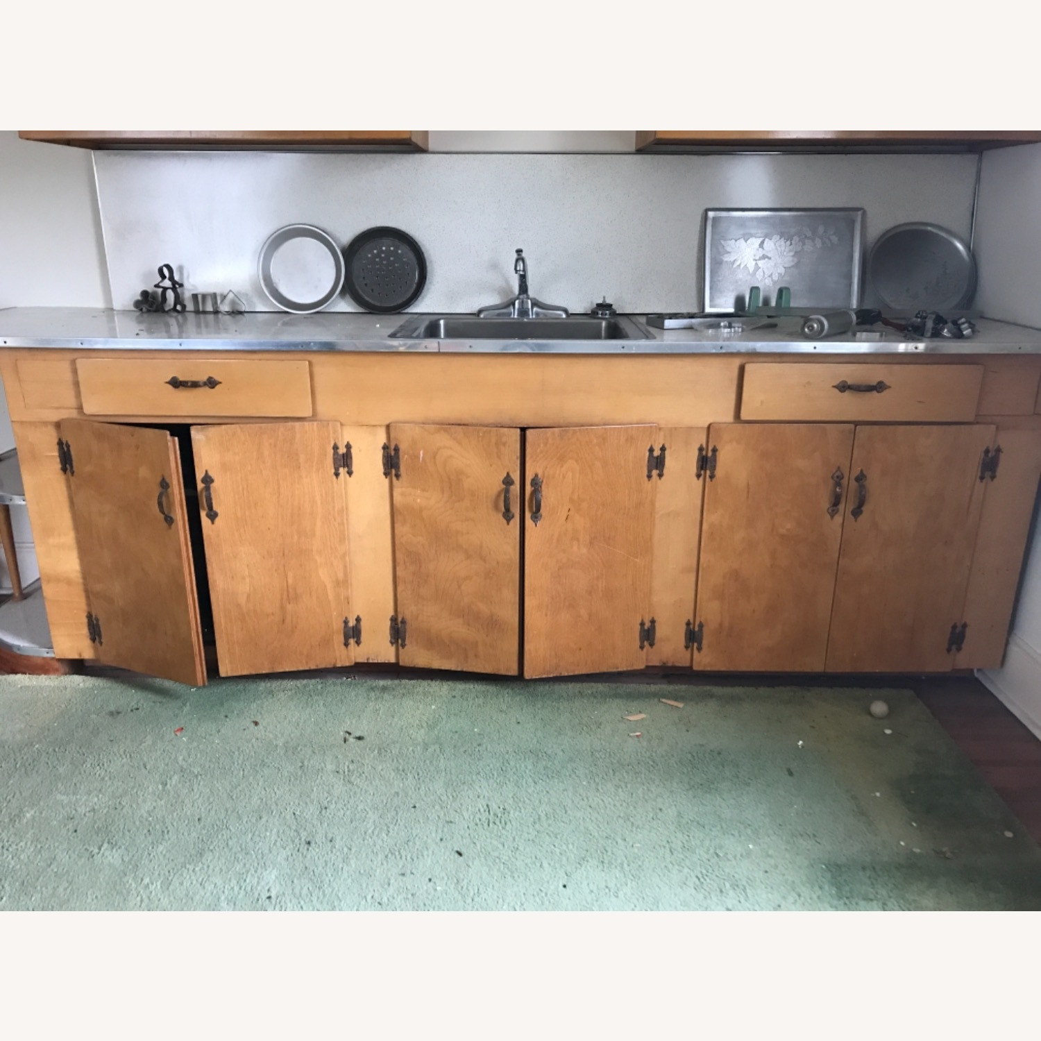 Hand made Maple Cabinets - image-13