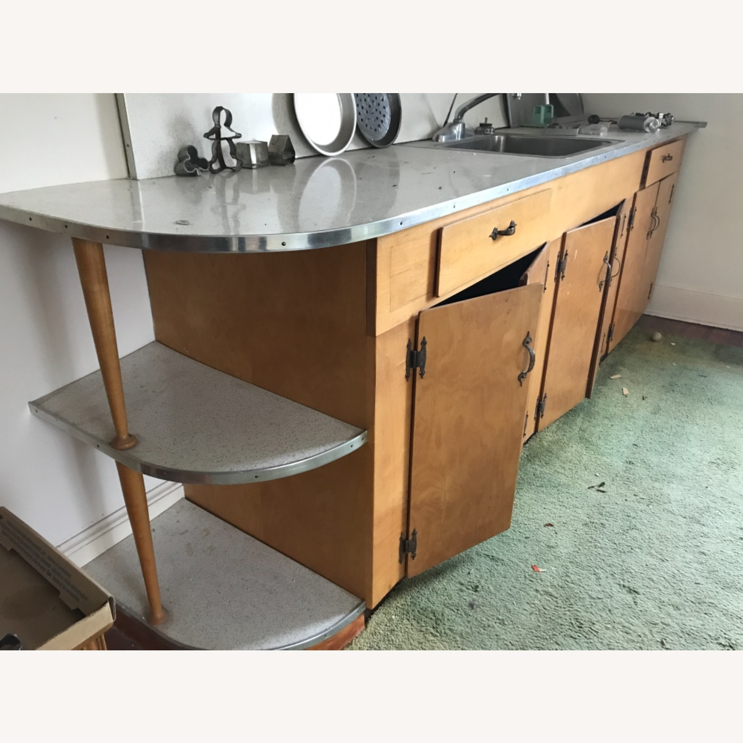 Hand made Maple Cabinets - image-14