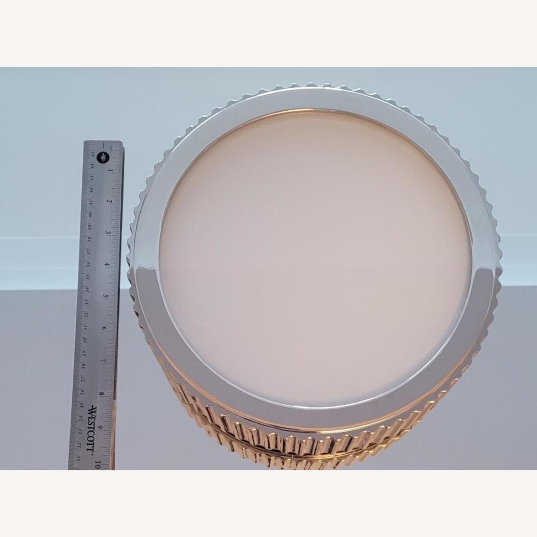 "Restoration Hardware 10"" Davenport Flushmount Light - image-1"