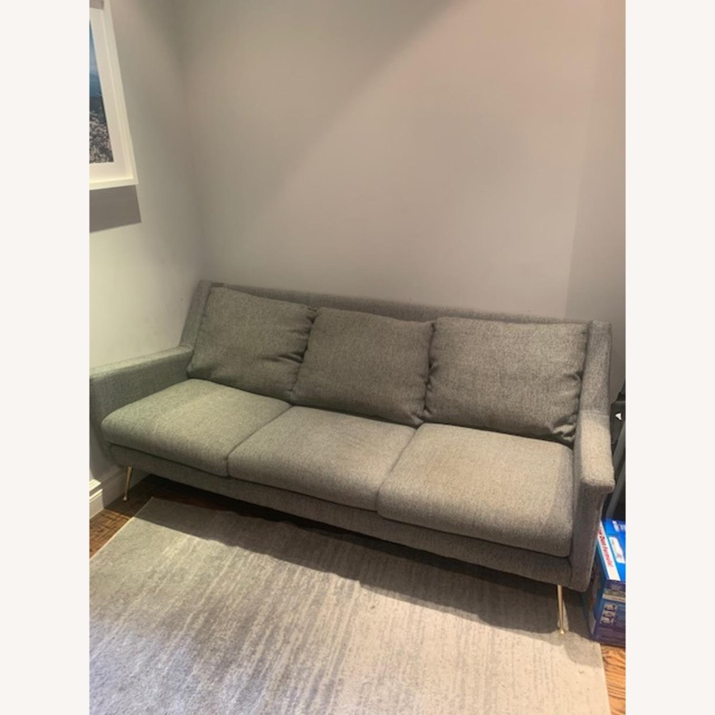 West Elm Gray Sofa - image-4