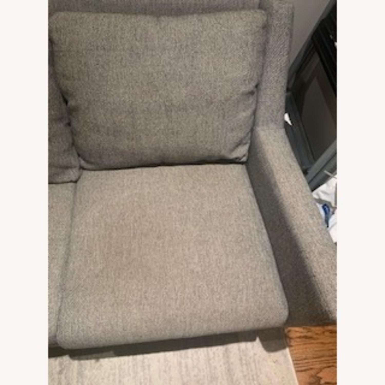 West Elm Gray Sofa - image-5