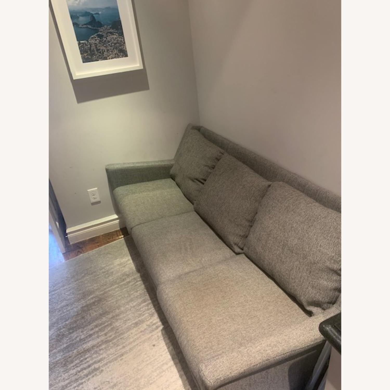 West Elm Gray Sofa - image-2