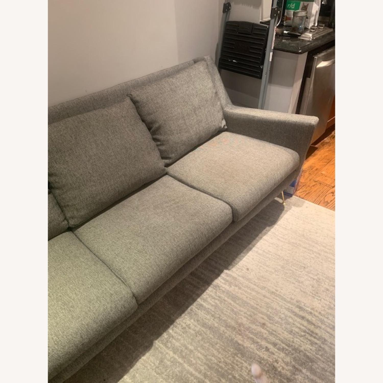 West Elm Gray Sofa - image-3