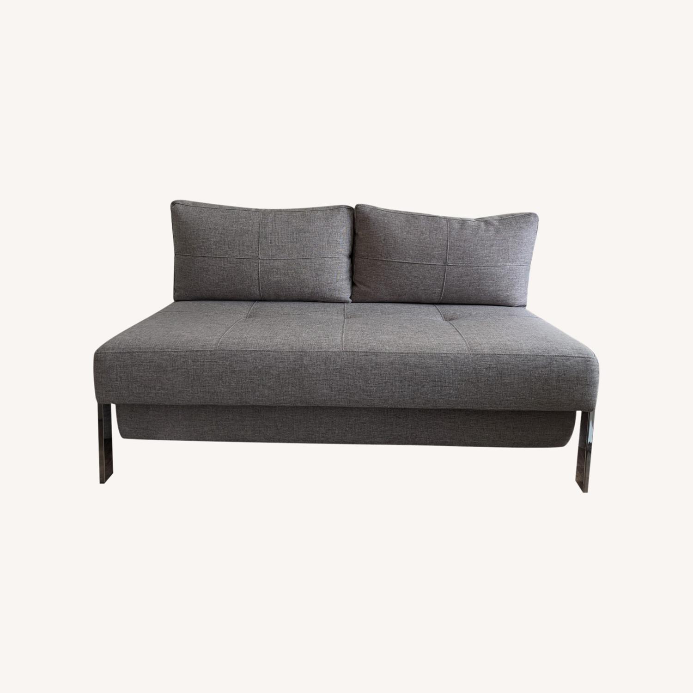 Modern Gray Innovation Living Full Size Sofa Bed - image-0
