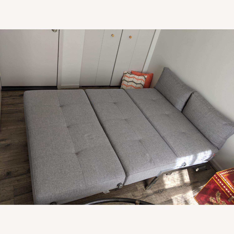 Modern Gray Innovation Living Full Size Sofa Bed - image-7