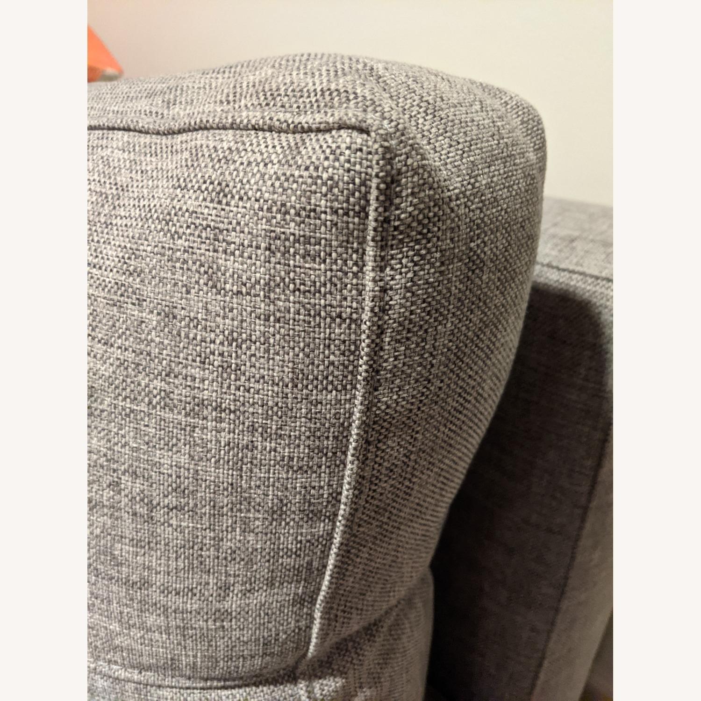 Modern Gray Innovation Living Full Size Sofa Bed - image-9