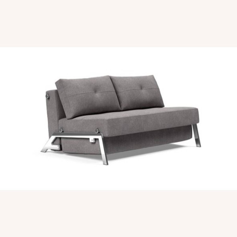 Modern Gray Innovation Living Full Size Sofa Bed - image-8