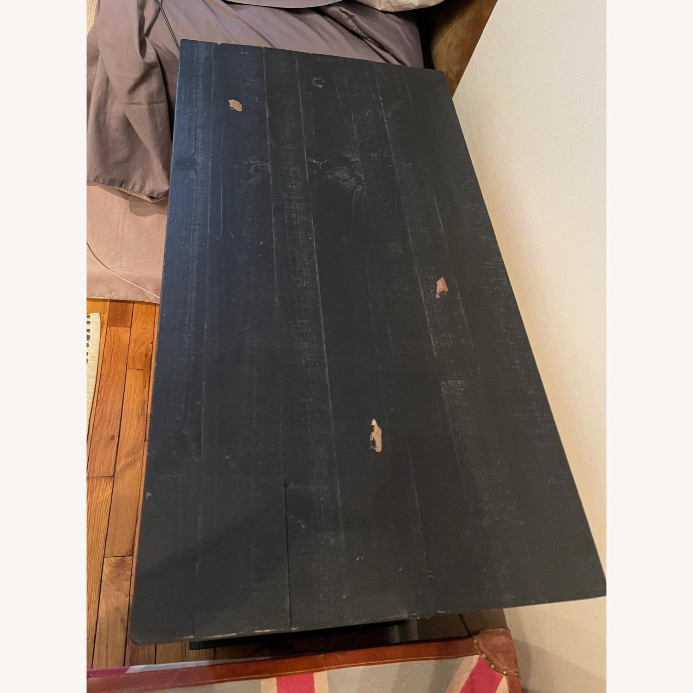Wayfair Distressed Black Wood Nightstand - image-5