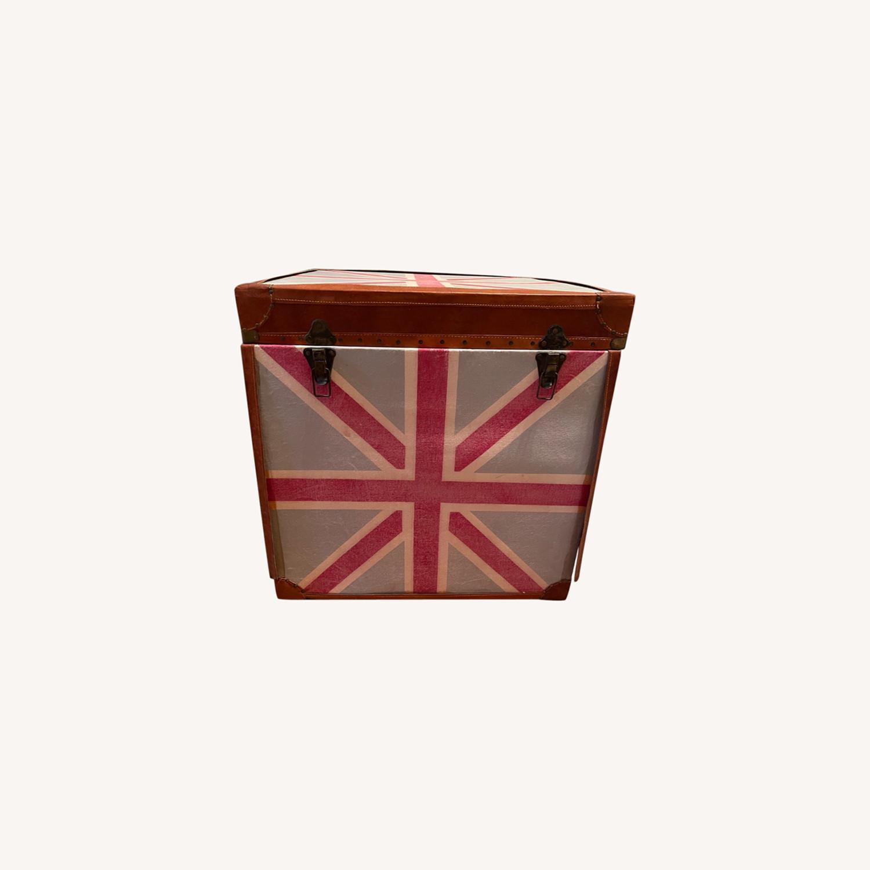 British Flag Storage Chest - image-0