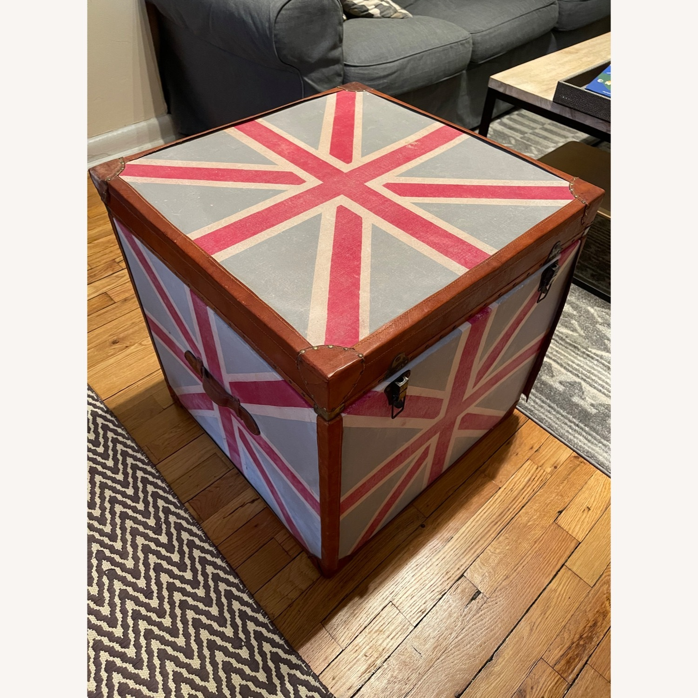 British Flag Storage Chest - image-3