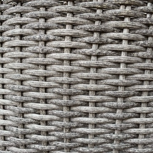 Used CB2 Woven Fabric Basket for sale on AptDeco