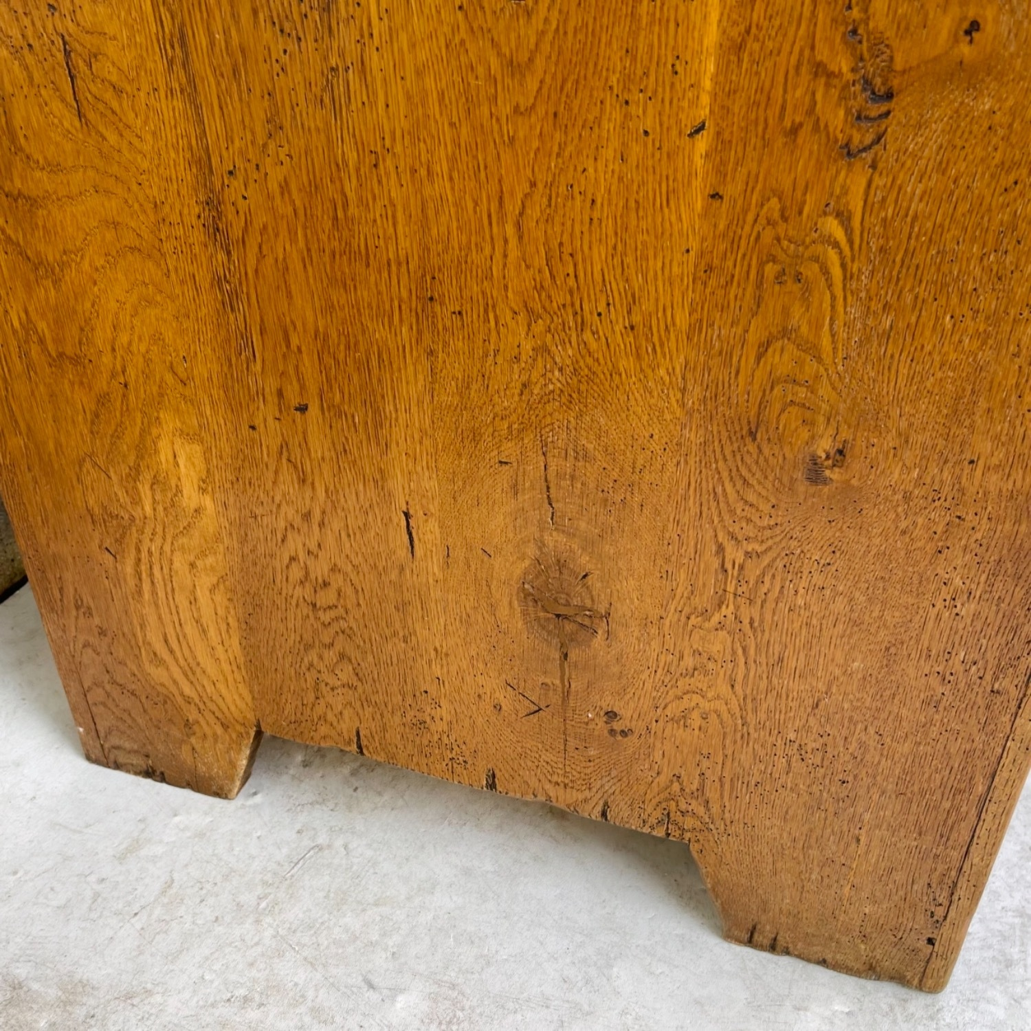 Antique Country Style Cupboard With Topper - image-18