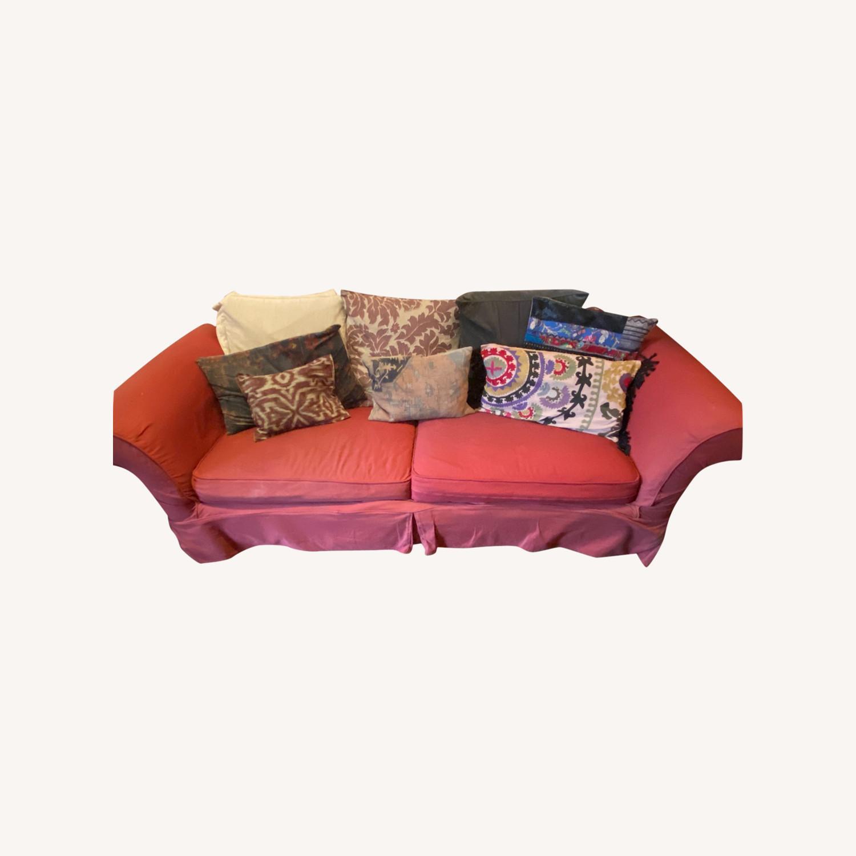 Pottery Barn Sofa Bed - image-0