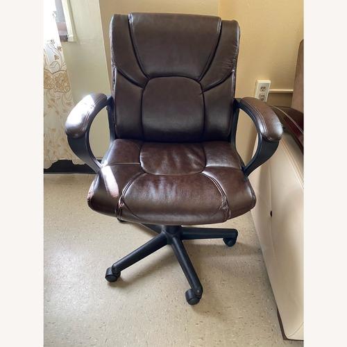 Used Staples Office Armchair on Wheels for sale on AptDeco