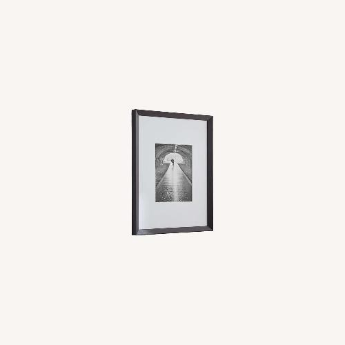 Used Crate & Barrel Icon 8x10 Black Wall Frame for sale on AptDeco