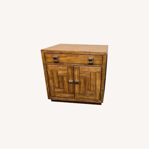 Used 1970's Drexel Heritage Midcentury Nightstand for sale on AptDeco