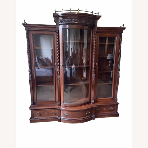 Used Large 1900s Display Cabinet for sale on AptDeco
