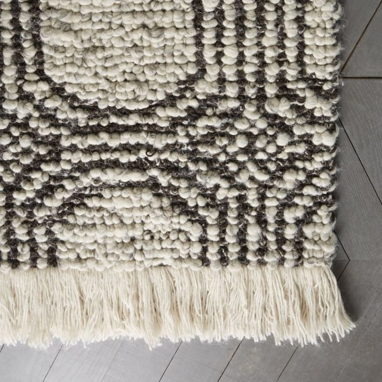West Elm Concentric Circle Rug - image-1