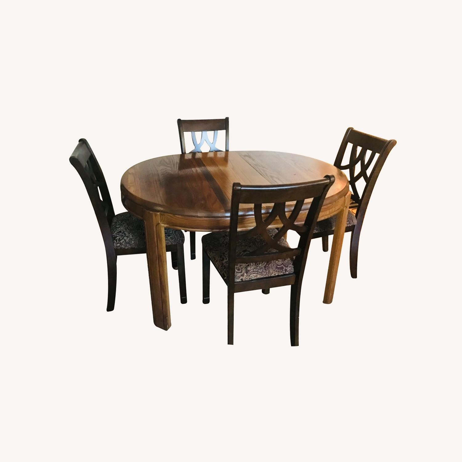 Urban Design Furnishings Dinning Table Extension Sits 10-12 - image-0
