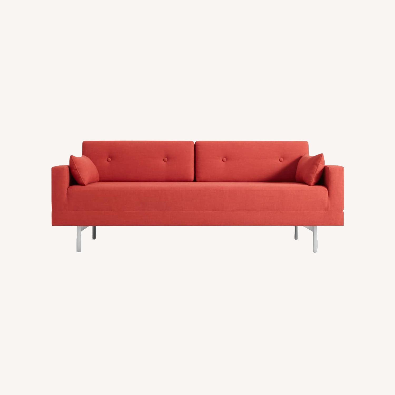 Blu Dot One Night Stand Sleeper Sofa - Red - image-0