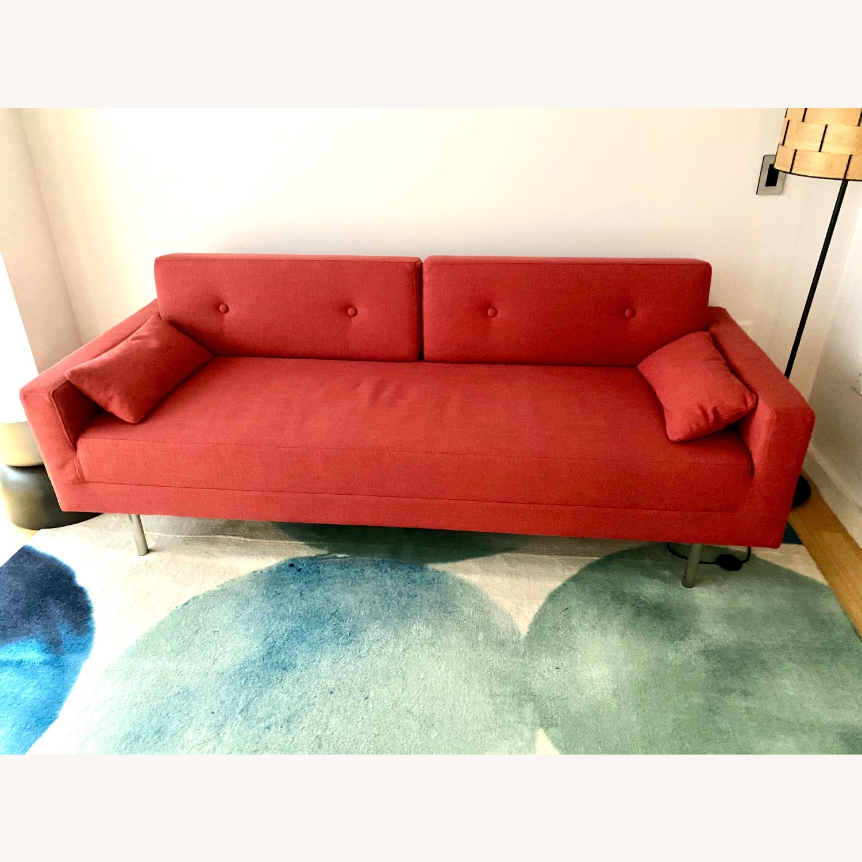 Blu Dot One Night Stand Sleeper Sofa - Red - image-1