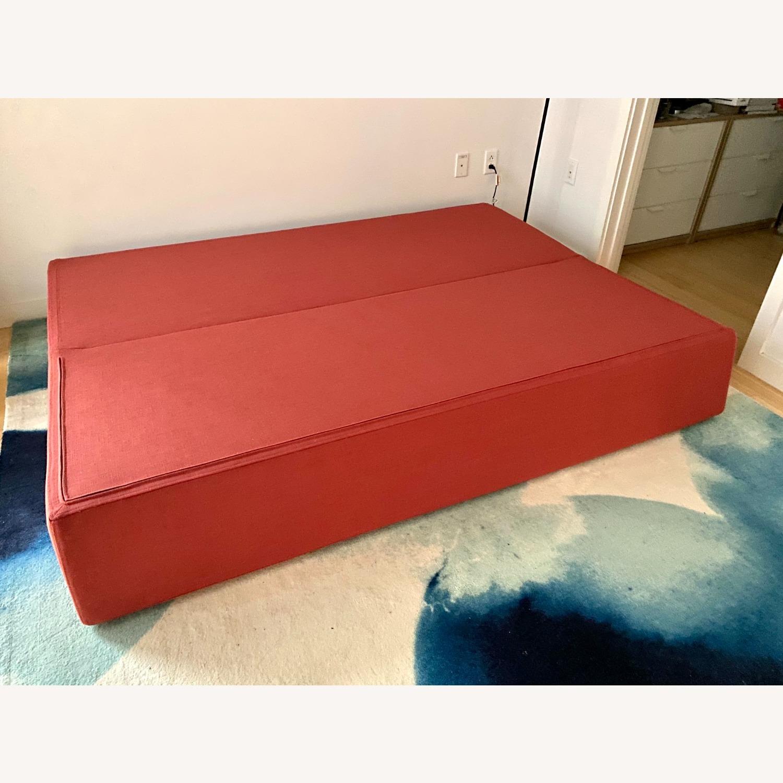 Blu Dot One Night Stand Sleeper Sofa - Red - image-2