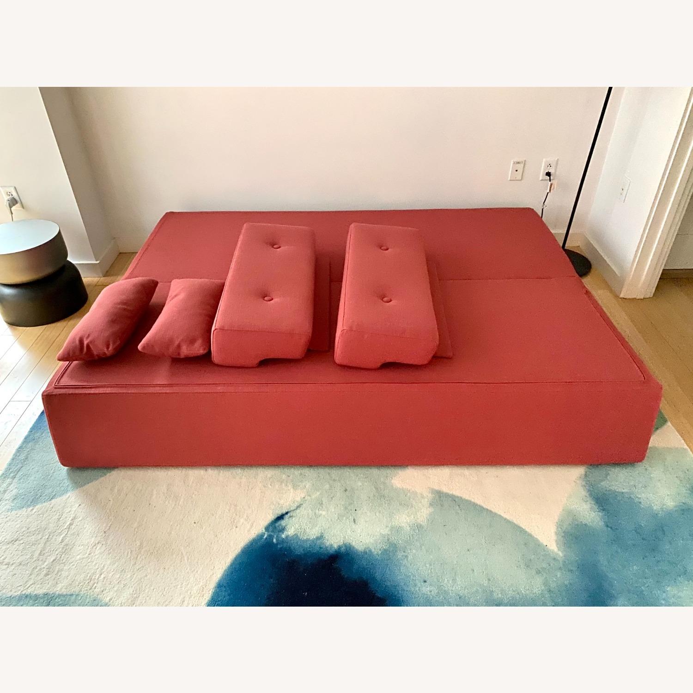 Blu Dot One Night Stand Sleeper Sofa - Red - image-3
