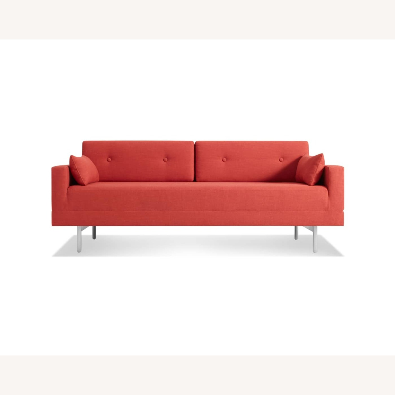 Blu Dot One Night Stand Sleeper Sofa - Red - image-4