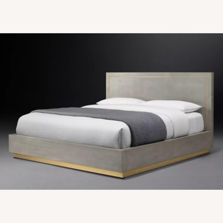 Restoration Hardware Platform Bed Aptdeco