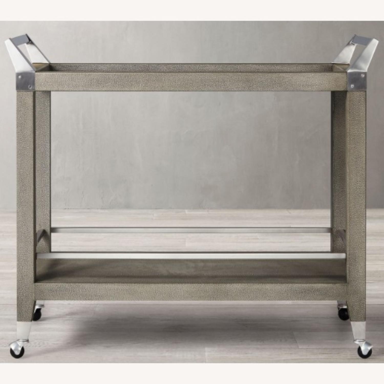 Restoration Hardware Bar Cart - image-0