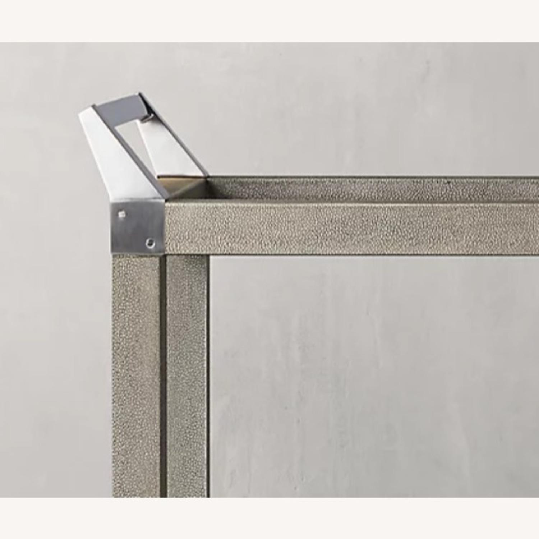 Restoration Hardware Bar Cart - image-2