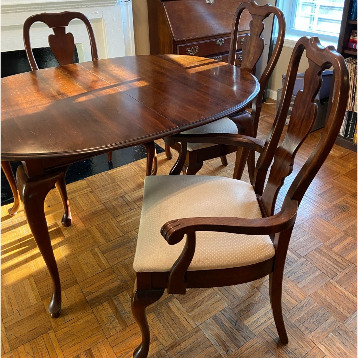 Antique Mahogany Dining Room Set - image-2