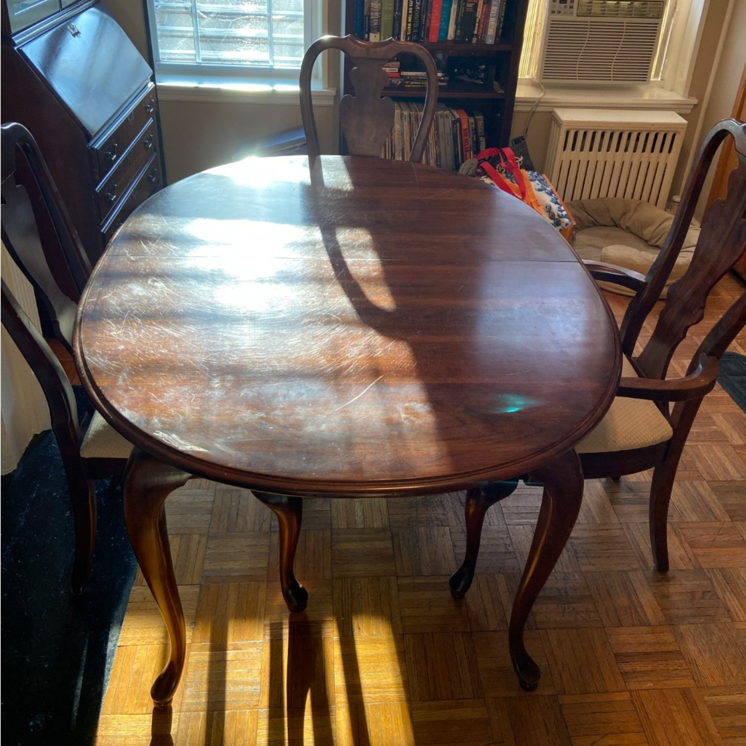 Antique Mahogany Dining Room Set - image-1