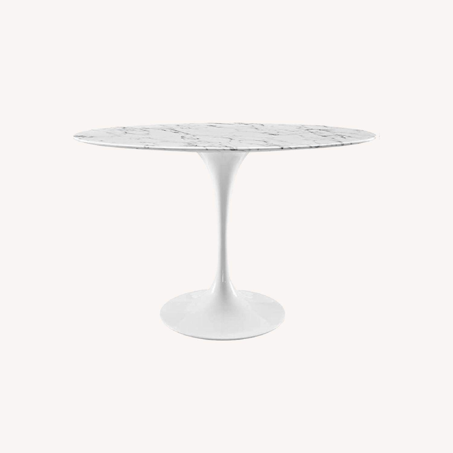 """Modway 48"""" Oval Tulip Table - image-0"""