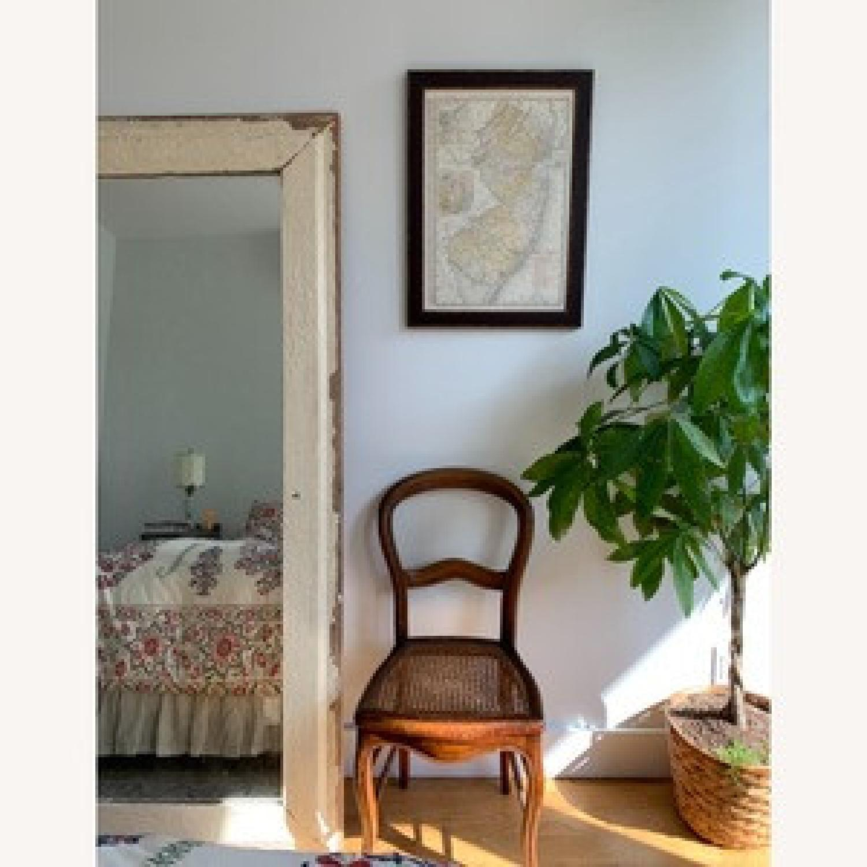 Vintage Wooden Floor Mirror - image-1