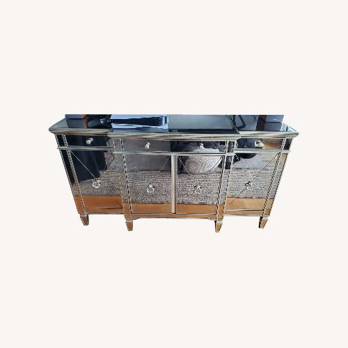 Used Horchow Vintage-style Mirrored Buffet for sale on AptDeco