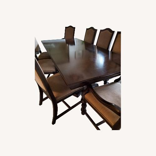 Used Traditional Dining Room Table with Chairs for sale on AptDeco
