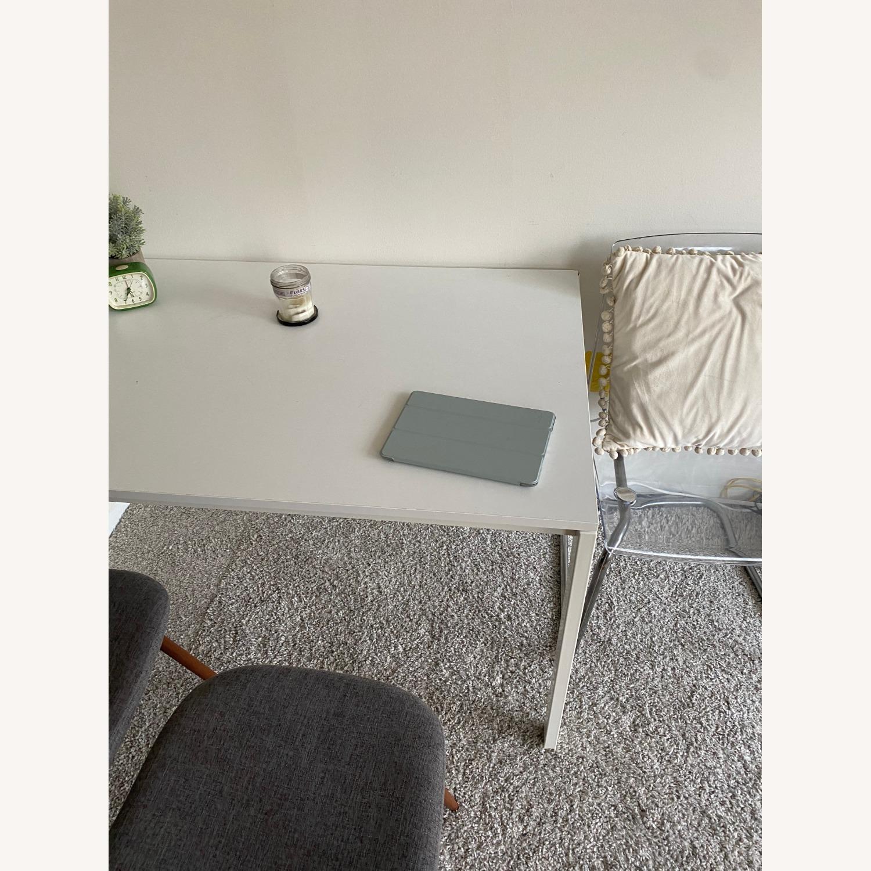 IKEA White Dining Table - image-3