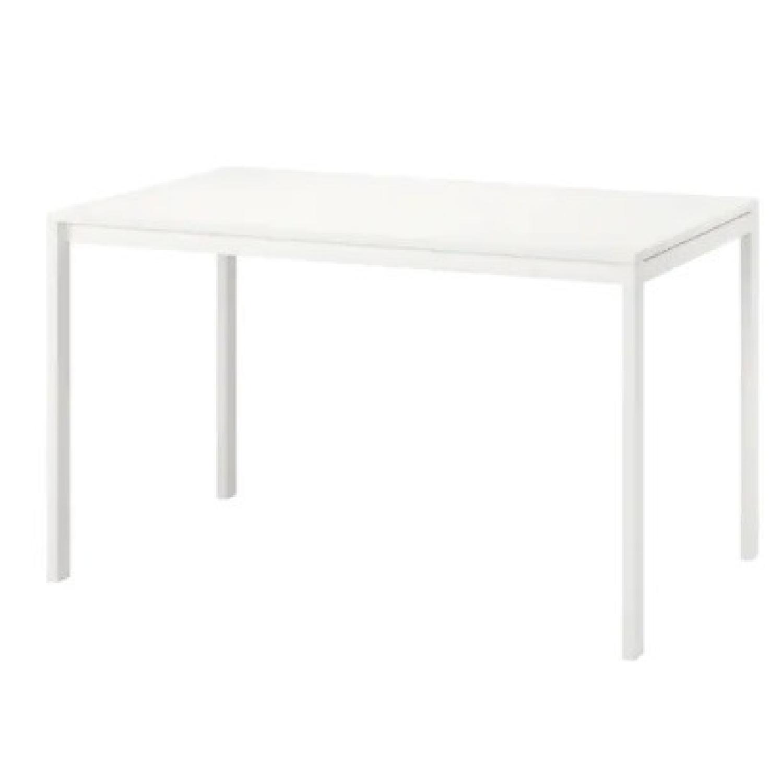 IKEA White Dining Table - image-0