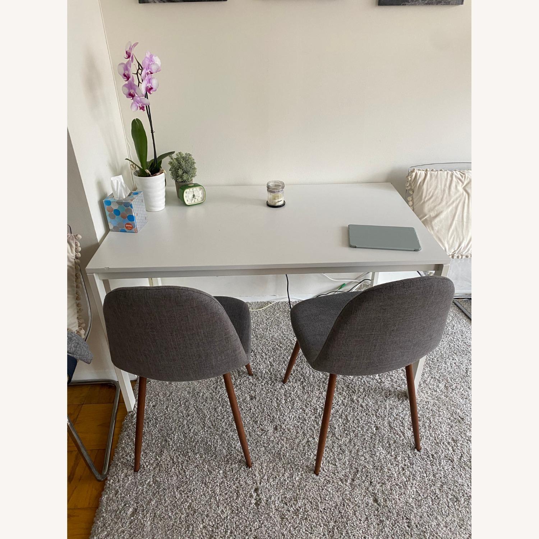 IKEA White Dining Table - image-1